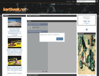 kartbook.ning.com screenshot
