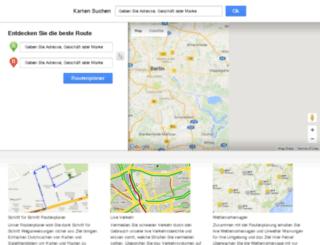 kartenroutenplaner.com screenshot