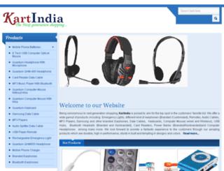 kartindia.co.in screenshot