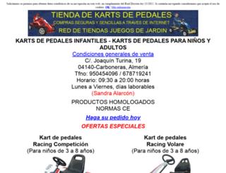 kartsdepedales.com screenshot