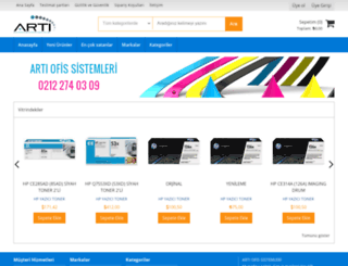 kartustonersepeti.com screenshot