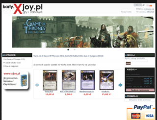 karty.xjoy.pl screenshot