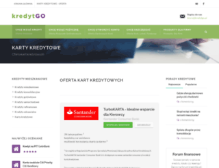 kartykredytowe.kredytgo.pl screenshot