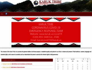 karuk.us screenshot