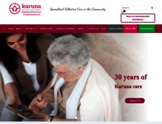 karuna.org.au screenshot