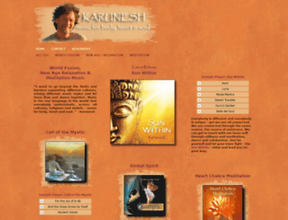 karuneshmusic.com screenshot