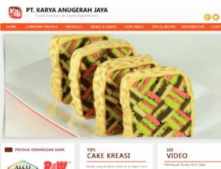 karyaanugerahjaya.com screenshot
