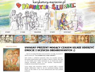 karykatury-marzenie.pl screenshot
