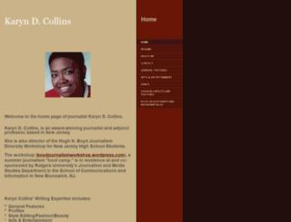 karyncollins.com screenshot