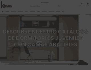 kasasdecoracion.com screenshot