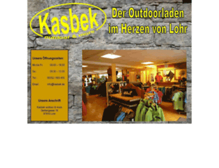kasbek.de screenshot