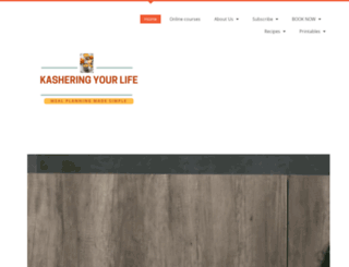 kasheringyourlife.co.za screenshot