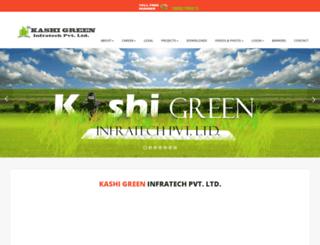 kashigreeninfra.in screenshot