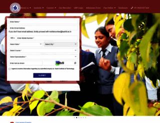 kashiit.ac.in screenshot