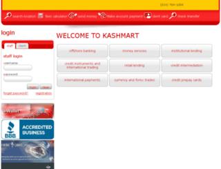 kashmart.com screenshot