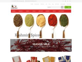kashmirmarket.com screenshot