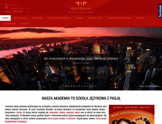 kasialewicka.pl screenshot