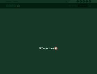 kasikornsecurities.com screenshot