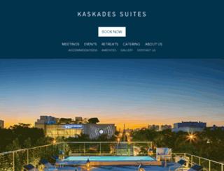 kaskadesevents.com screenshot