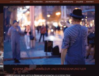 kaspar-gross.com screenshot