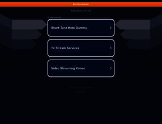 kaspars.co.uk screenshot