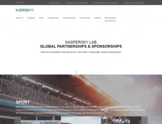 kasperskymotorsport.com screenshot