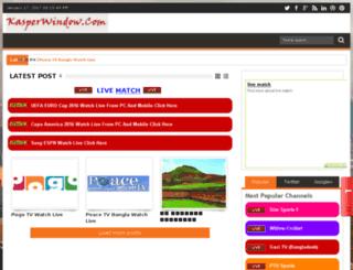kasperwindow.blogspot.com screenshot