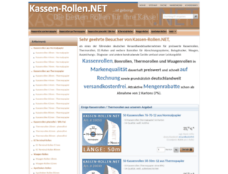 kassen-rollen.net screenshot
