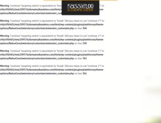 kassieloo.com screenshot