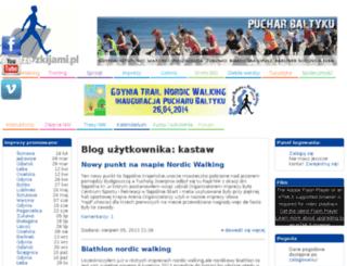 kastaw.chodzezkijami.pl screenshot