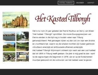 kasteeltilborgh.nl screenshot