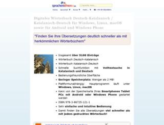 katalanisch-woerterbuch.online-media-world24.de screenshot