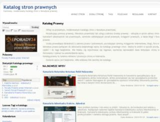 katalog-prawny.kaoso.pl screenshot