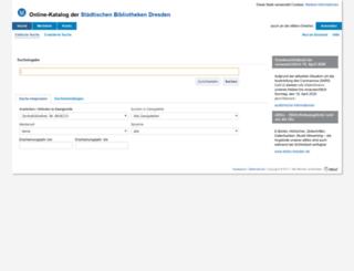 katalog.bibo-dresden.de screenshot