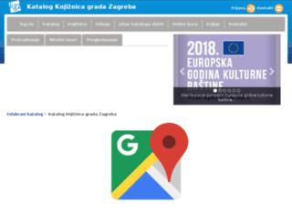 katalog.kgz.hr screenshot
