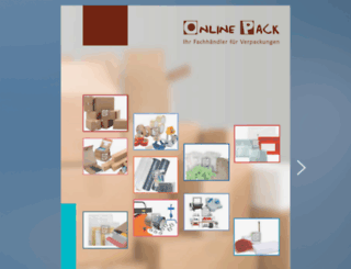 katalog.onlinepack.de screenshot