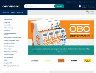 katalog.onninen.pl screenshot