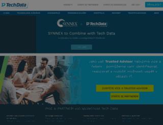 katalog.techdata.cz screenshot