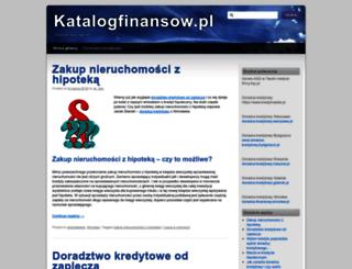 katalogfinansow.pl screenshot