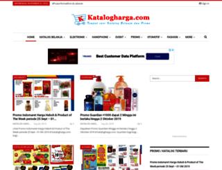 katalogharga.com screenshot