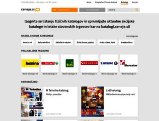 katalogi.ceneje.si screenshot