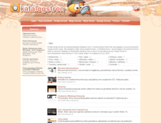 katalogstron.net.pl screenshot