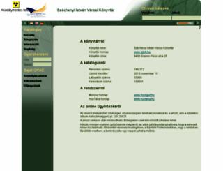 katalogus.szivk.hu screenshot