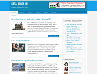 katalogusa.hu screenshot