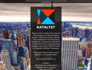 katalystlive.launchrock.com screenshot