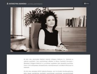 katarzyna-adamska.pl screenshot