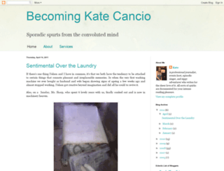 katecancio.blogspot.com screenshot