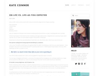 kateelizabethconner.com screenshot