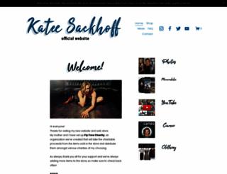 kateesackhoff.com screenshot