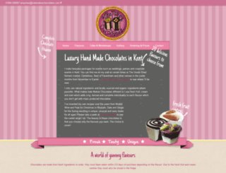 katemakeschocolates.com screenshot